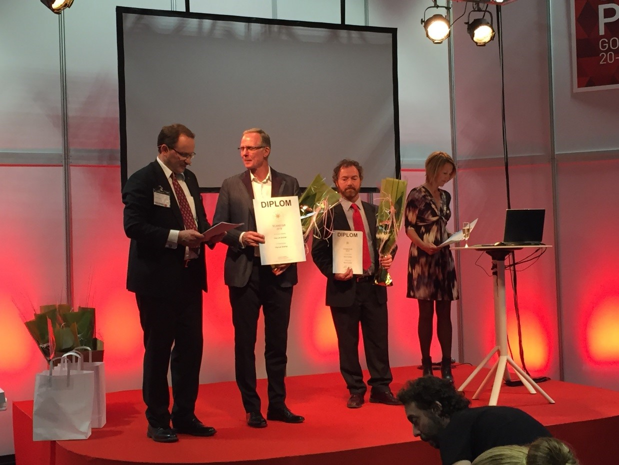 Clip-Lok SimPak wins the coveted ScanStar Award
