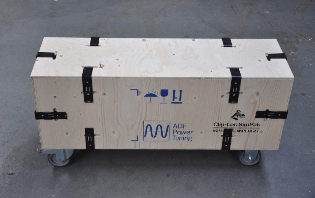 Retur- og engangskasser til Elektrisk Transmission- og Distributions Udstyr