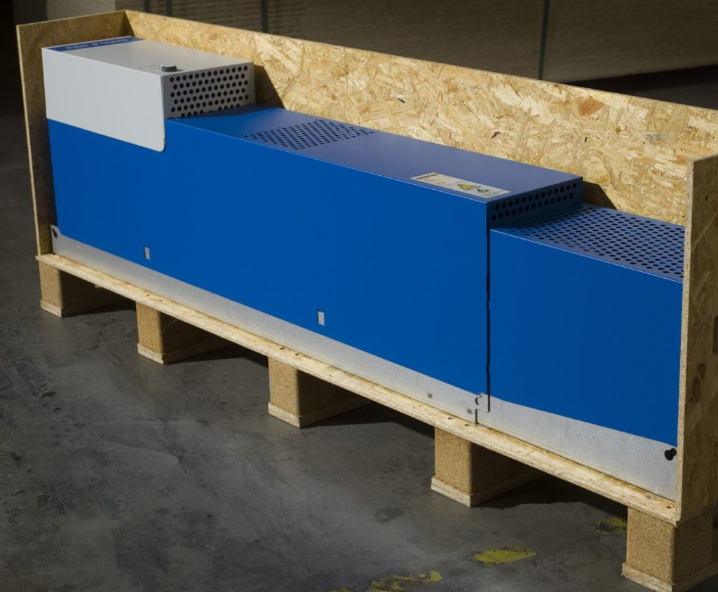Envägs- och returförpackningar för power tuning-utrustning