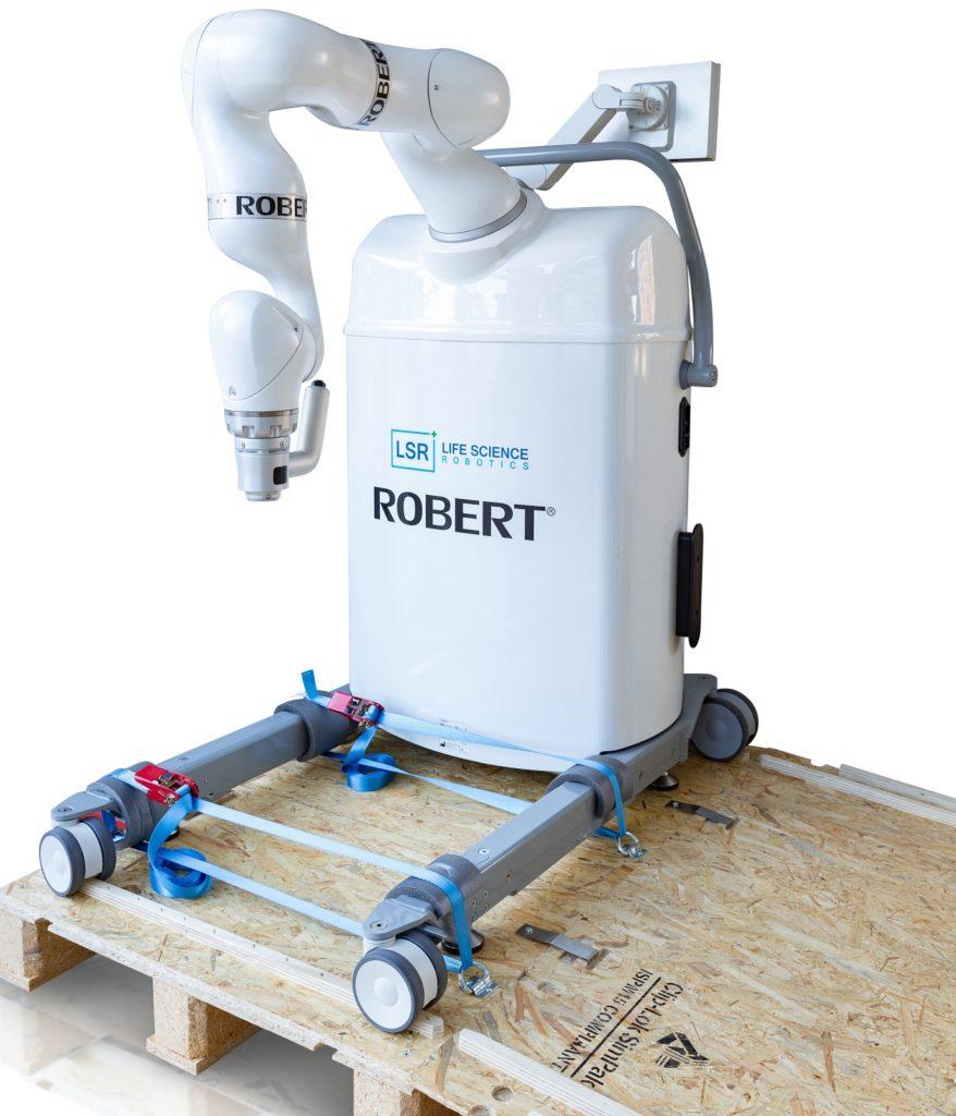 Tidsbesparende emballage for robotindustrien