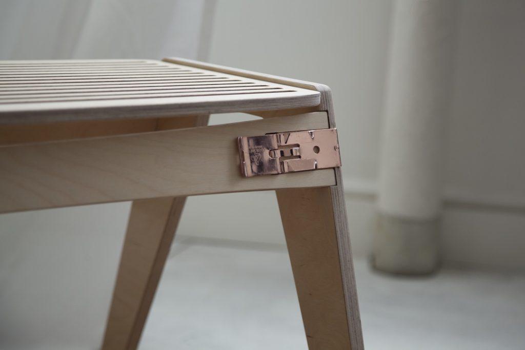 Clip-Loks clips bruges i bæredygtige møbler